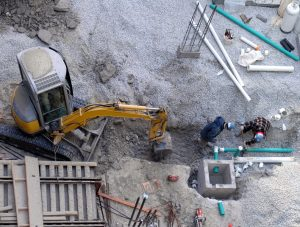 digging-trench-for-pipe